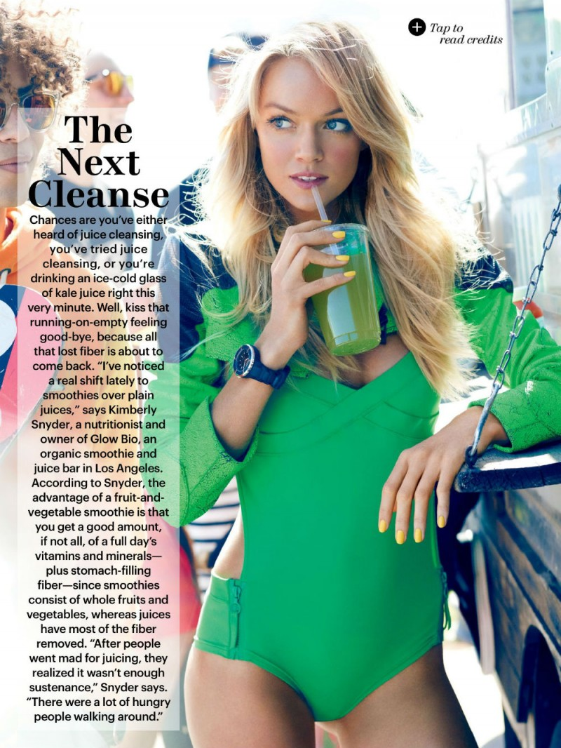 Beautiful Blonde Fashion Model Lindsay Ellingson Modeling For Allure Magazine Fashion Editorials Modeling As One Of The Highest Paid Models In The World.