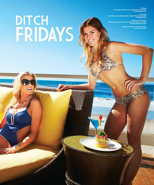 Beautiful Models Brooke Mangum And Kristin Tolbert Modeling On The Beach In Orange County Southern California Modeling In Beautiful Swimsuits For Locale Magazine Spring Fashion Editorials - Models Selected By ZARZAR MODELING AGENCY