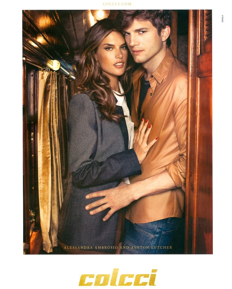 Beautiful Brazilian Model Alessandra Ambrosio Modeling For Colcci Fall Winter Fashion Advertising Campaign Modeling For Colcci Ads As One Of The Highest Paid Models In The World