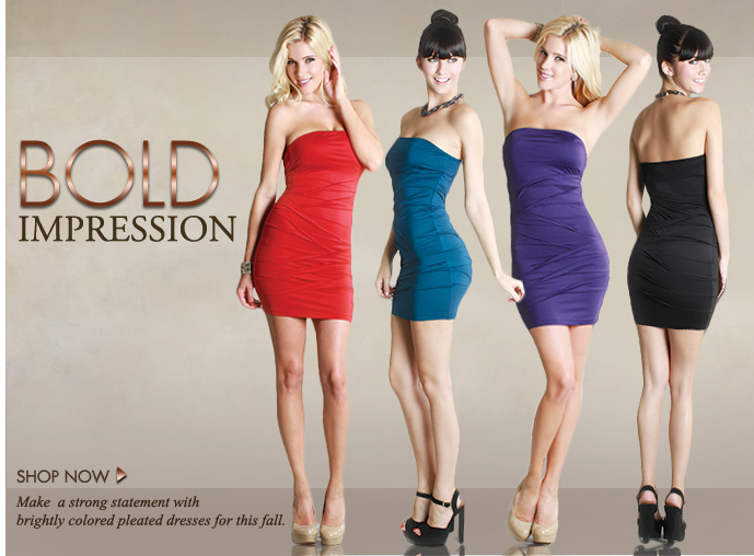 Beautiful Blonde ZARZAR MODELS Jessica Harbour Modeling In Los Angeles Southern California Modeling In Sexy Brightly Colored Pleated Red And Purple Dresses For Shop Now Bold Impressions Fashion Ads And Fashion Advertisements How To Become A Macy's Model And Becoming Macy's Models