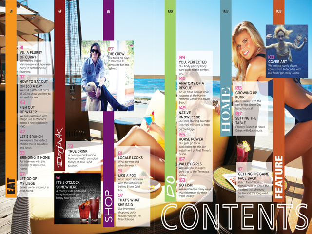 Beautiful ZARZAR MODELS Modeling In Laguna Beach Orange County Southern California For Locale Magazine Table Of Contents Spring 2012. Fashion Models Selected By ZARZAR MODELING AGENCY.