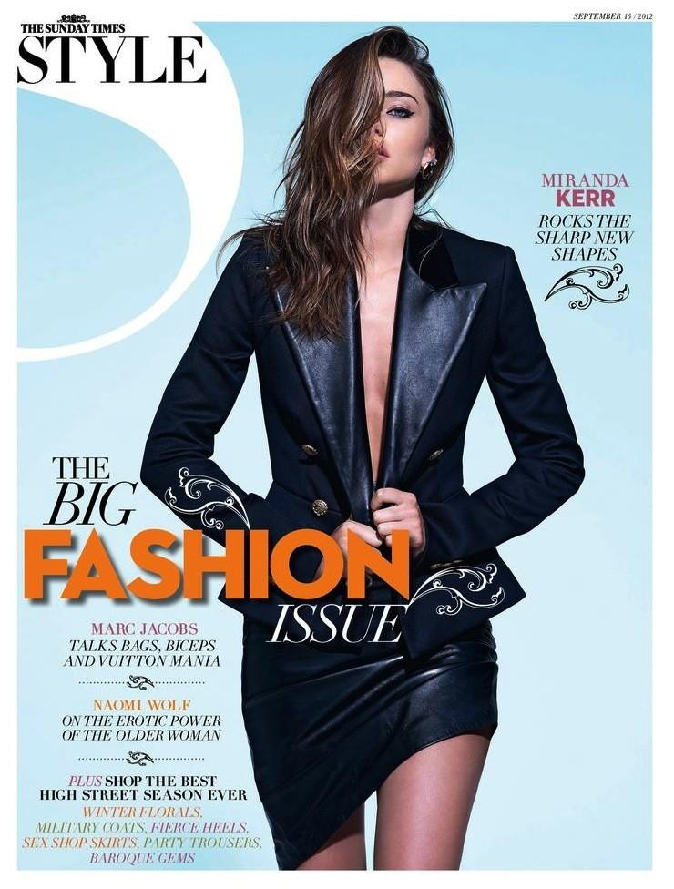 Beautiful Australian Model Miranda Kerr Modeling For The Cover Of Sunday Times Style Magazine Photographed By Eric Guillemain For Sunday Times Style Magazine Fashion Editorials.