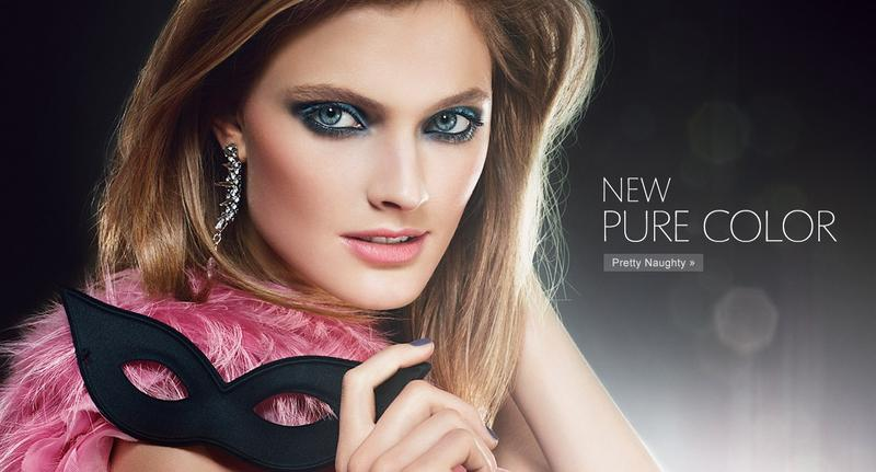 Beautiful Blonde Supermodel Constance Jablonski Modeling For Estee Lauder Cosmetics Advertisements And Estee Lauder Makeup Ads Makeup By Makeup Artist Tom Pecheux