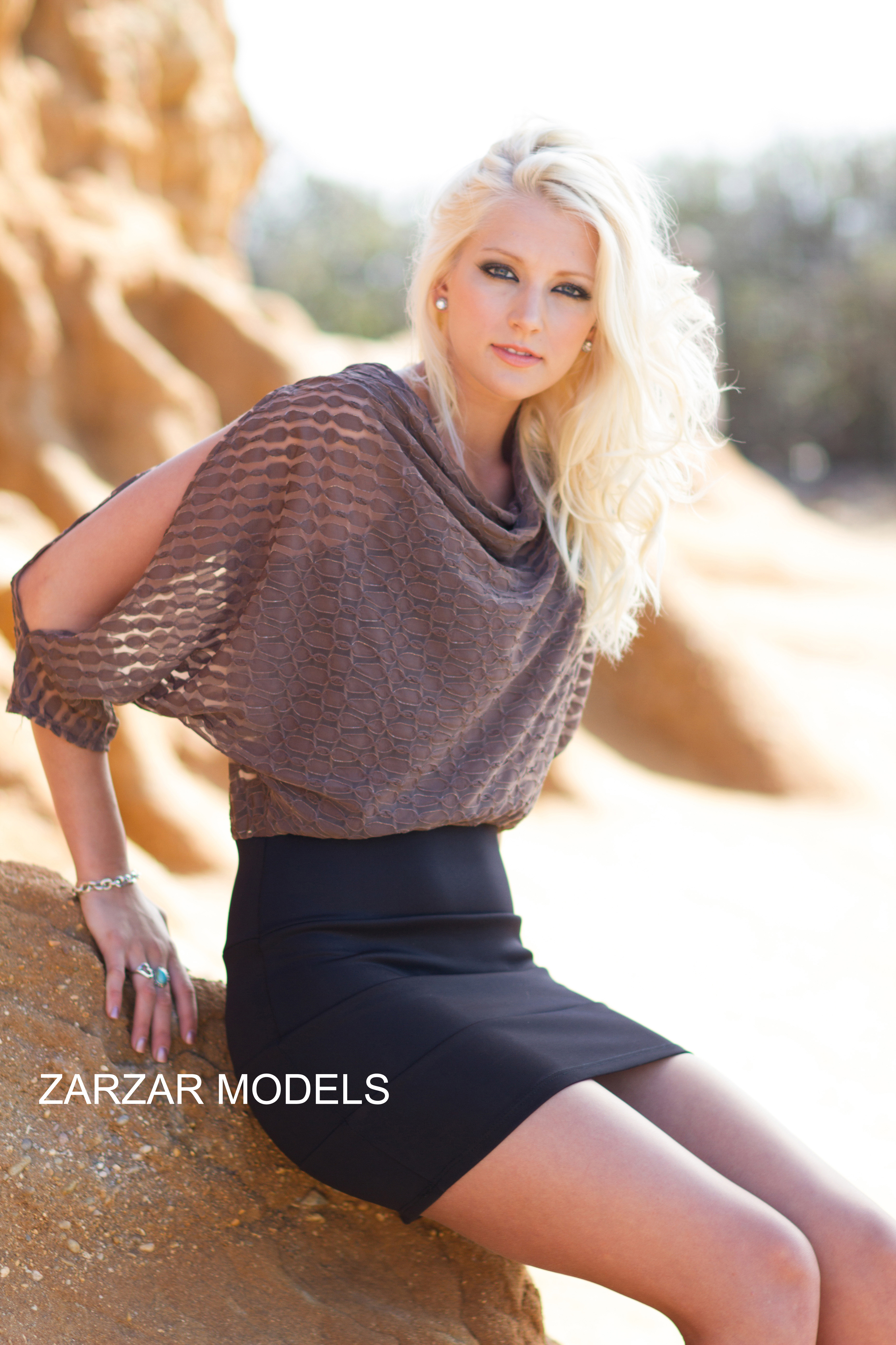 Beautiful Blonde ZARZAR MODEL Brooke Rilling Modeling In San Diego Southern California Modeling In Classic Black Skirts For Fashion Ads. ZARZAR MODEL Brooke Rilling Knows The Secrets Of Eating Healthy And Eating The Right Foods In Order To Have Healthy Beautiful Looking Skin.
