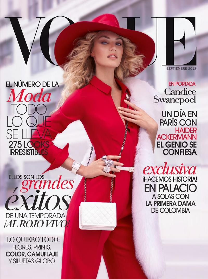 Beautiful Blonde Victoria's Secret Model Candice Swanepoel Modeling For The Cover Of Vogue Mexico Wearing Beautiful Makeup. Victoria's Secret Model Candice Swanepoel Had Her Beautiful Blonde Hair Styled By Hair Stylist Fernando Torrent And Her Beautiful Makeup Done By Makeup Artist Ayami Nishimura.