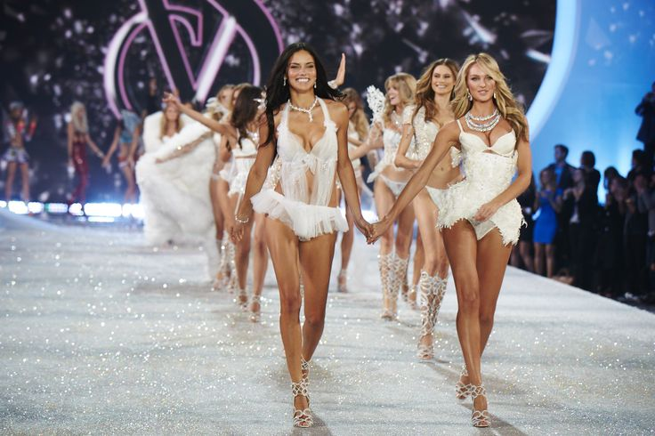 The Victoria's Secret Fashion Show Featuring Beautiful Victoria's Secret Models And Victoria's Secret Angels Modeling For The Victoria's Secret Fashion Runway Show After Successful Victoria's Secret Fittings.