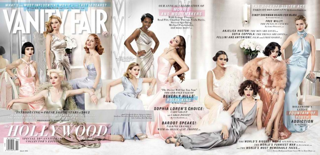 Beautiful Hollywood Actresses Modeling For The Cover Of Vanity Fair Magazine And Vanity Fair Fashion Editorials. Famous Hollywood Actresses Represented By The Top Acting Agencies In Los Angeles California.