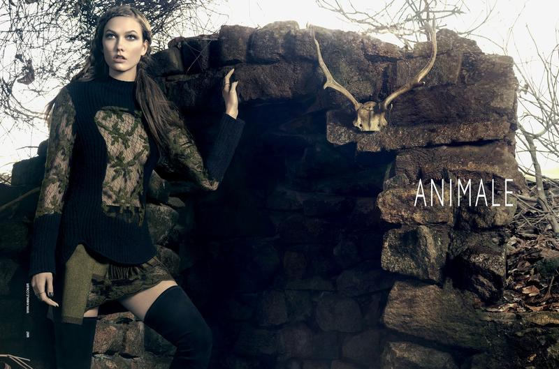 Beautiful Model Karlie Kloss Modeling For Animale Brazil (Animale Brasil) Fashion Advertisements And Animale Fashion Ads Modeling As One Of The Highest Paid Models In The World.