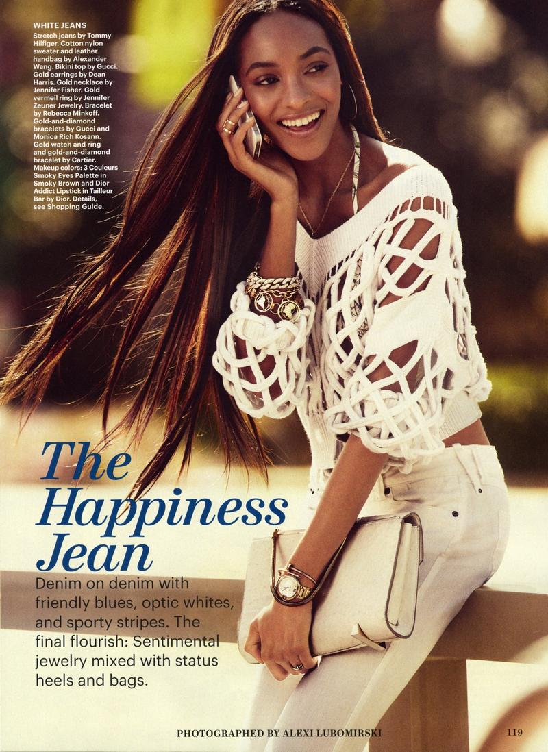 Beautiful British Model Jourdan Dunn Modeling For Allure Magazine Fashion Editorials Modeling As One Of The Highest Paid Models In The World. The World's Highest Paid Models.