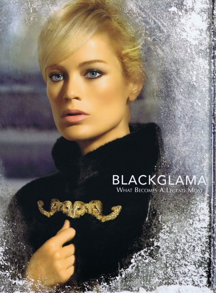Beautiful Model Carolyn Murphy Modeling For Blackglama Ads And Blackglama Advertisements Modeling As One Of The Highest Paid Models In The World. The World's Highest Paid Models.