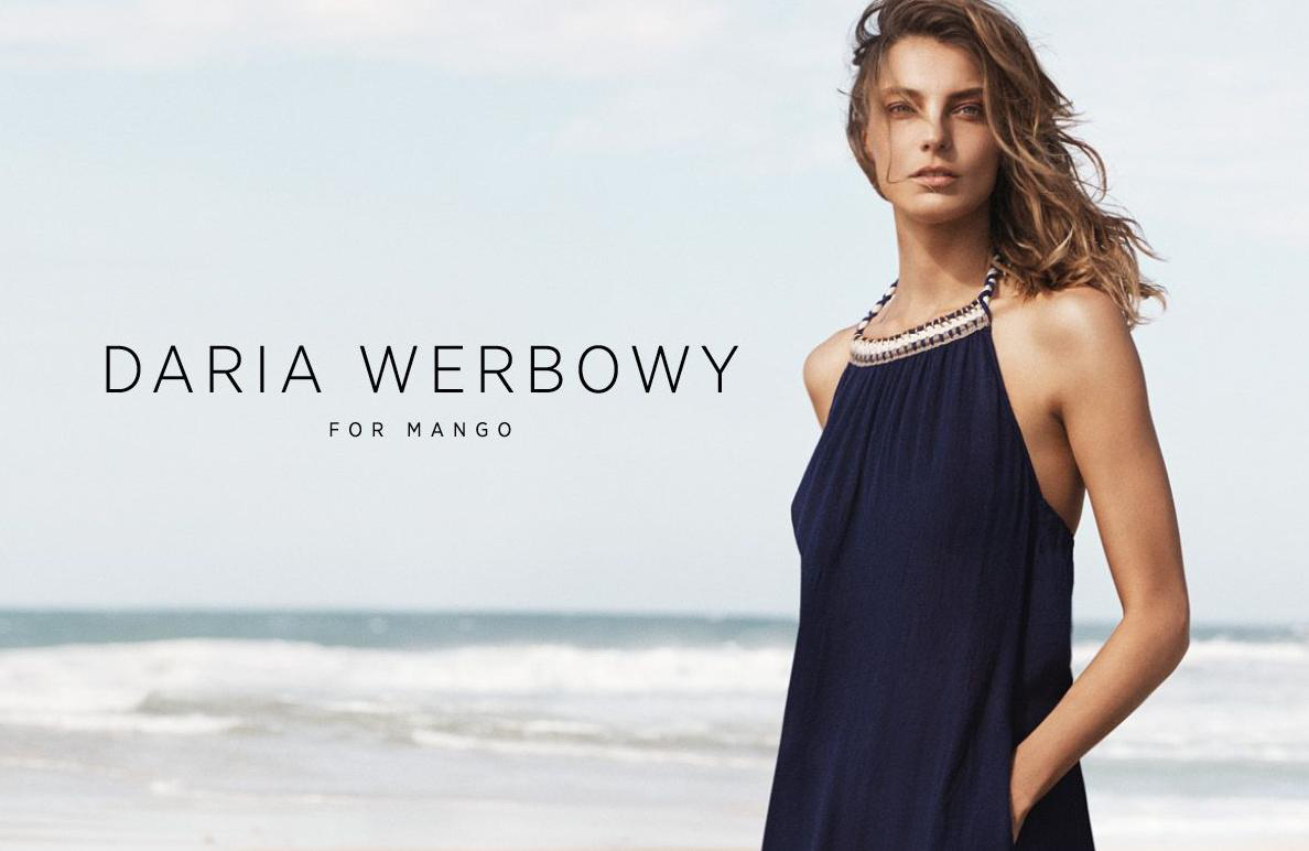 Beautiful Model Daria Werbowy Modeling For Mango Ads Modeling As One Of The Highest Paid Models In The World. Daria Werbowy Was Born In Krakow Poland And Emigrated To Toronto Canada.
