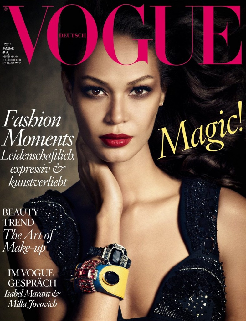 Beautiful Model From Puerto Rico Joan Smalls Modeling For The Cover Of Vogue Germany Modeling As One Of The Highest Paid Models In The World. The World's Highest Paid Models.