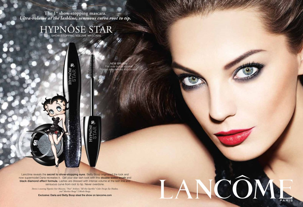 How To Get Beautiful Skin, Healthy Skin, And Smooth Radiant Skin. Beautiful Model Daria Werbowy Modeling For Lancome Ads And Lancome Advertisements. How To Get Beautiful Glowing Skin And Gorgeous Skin.