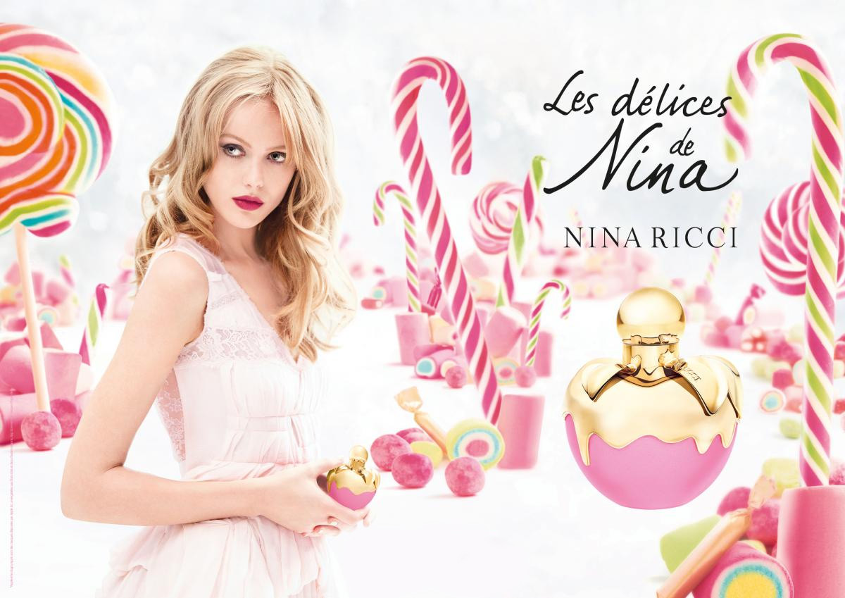 Beautiful Blonde Swedish Model Frida Gustavsson Modeling For The Nina Ricci Les Delices De Nina By Nina Ricci Perfume And Fragrance Fashion Campaign.