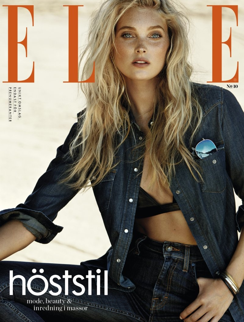 Beautiful Blonde Swedish Model Elsa Hosk Modeling For The Cover Of Elle Sweden And Elle Sweden Fashion Editorials Modeling As One Of The Highest Paid Models In The World. The World's Highest Paid Models. The Top Earning Models In The World.