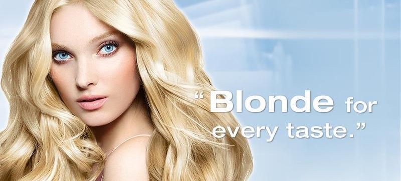 Beautiful Swedish Blonde Model Elsa Hosk Modeling For Schwarzkopf Fashion Advertisements (Schwarzkopf Fashion Ads) Modeling As One Of The Highest Paid Models In The World.
