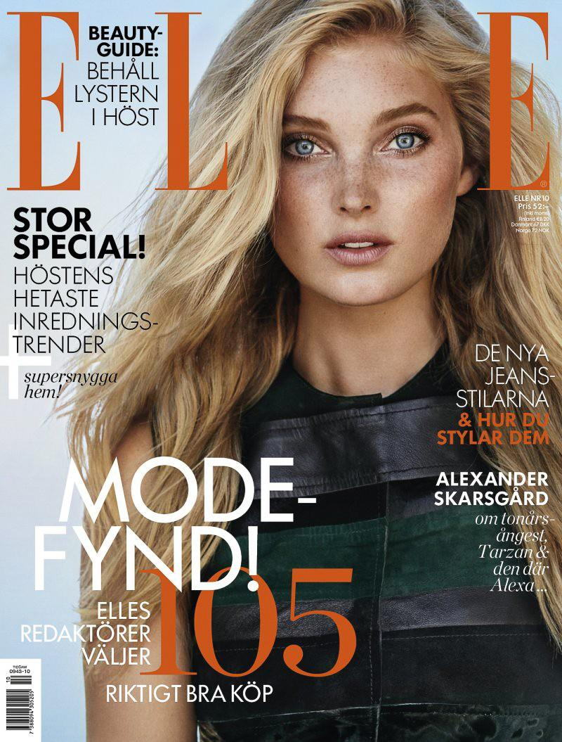 Beautiful Swedish Blonde Model Elsa Hosk Modeling For The Cover Of Elle Sweden And Elle Sweden Fashion Editorials Modeling As One Of The Highest Paid Models In The World. The World's Highest Paid Models. The Top Earning Models In The World.