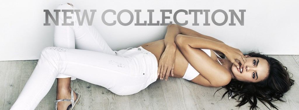 Beautiful Brazilian Fashion Model Alessandra Ambrosio Modeling For Spanish Shoe Label Xti Footwear Modeling In White Denim And White Shoes (Flats) For Xti Footwear Ads.
