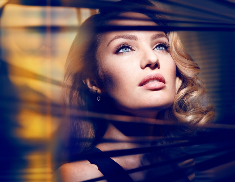 Beautiful South African Fashion Model Candice Swanepoel Modeling For Max Factor Ads (Beautiful Max Factor Makeup Ads) Modeling As One Of The Highest Paid Models In The World.
