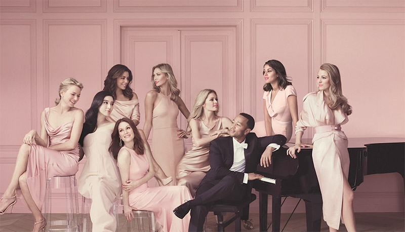 L'Oreal Paris Ambassadors Including Famous Fashion Models And Actresses Modeling For The New L'Oreal Paris Advertising Campaign (Beautiful L'Oreal Ads And L'Oreal Paris Advertisements).