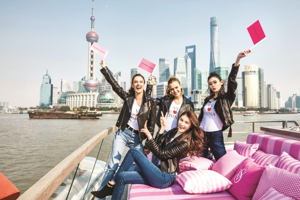 The Beautiful Victoria's Secret Models Modeling In Shanghai China. The Famous Victoria's Secret Fashion Show In Beautiful Shanghai China. Venues Of The Victoria's Secret Fashion Show. Locations In Victoria's Secret Fashion Show History.