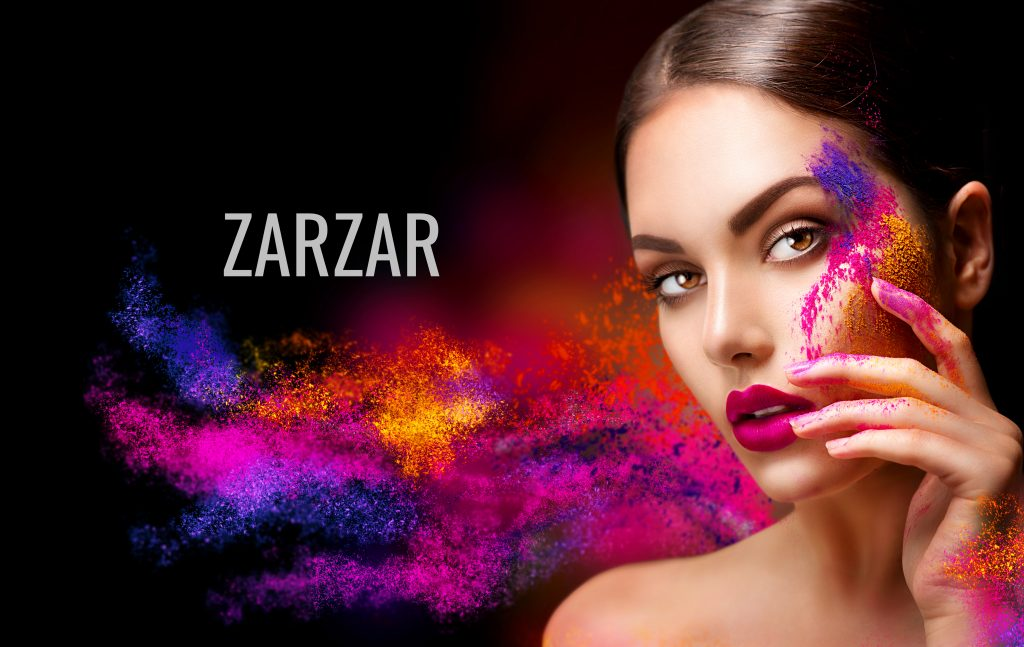 How To Use Makeup Primer For Fashion Models. ZARZAR Makeup Tutorials. Beautiful Fashion Model Modeling For Beautiful Makeup Ads And Beautiful Makeup Advertisements.