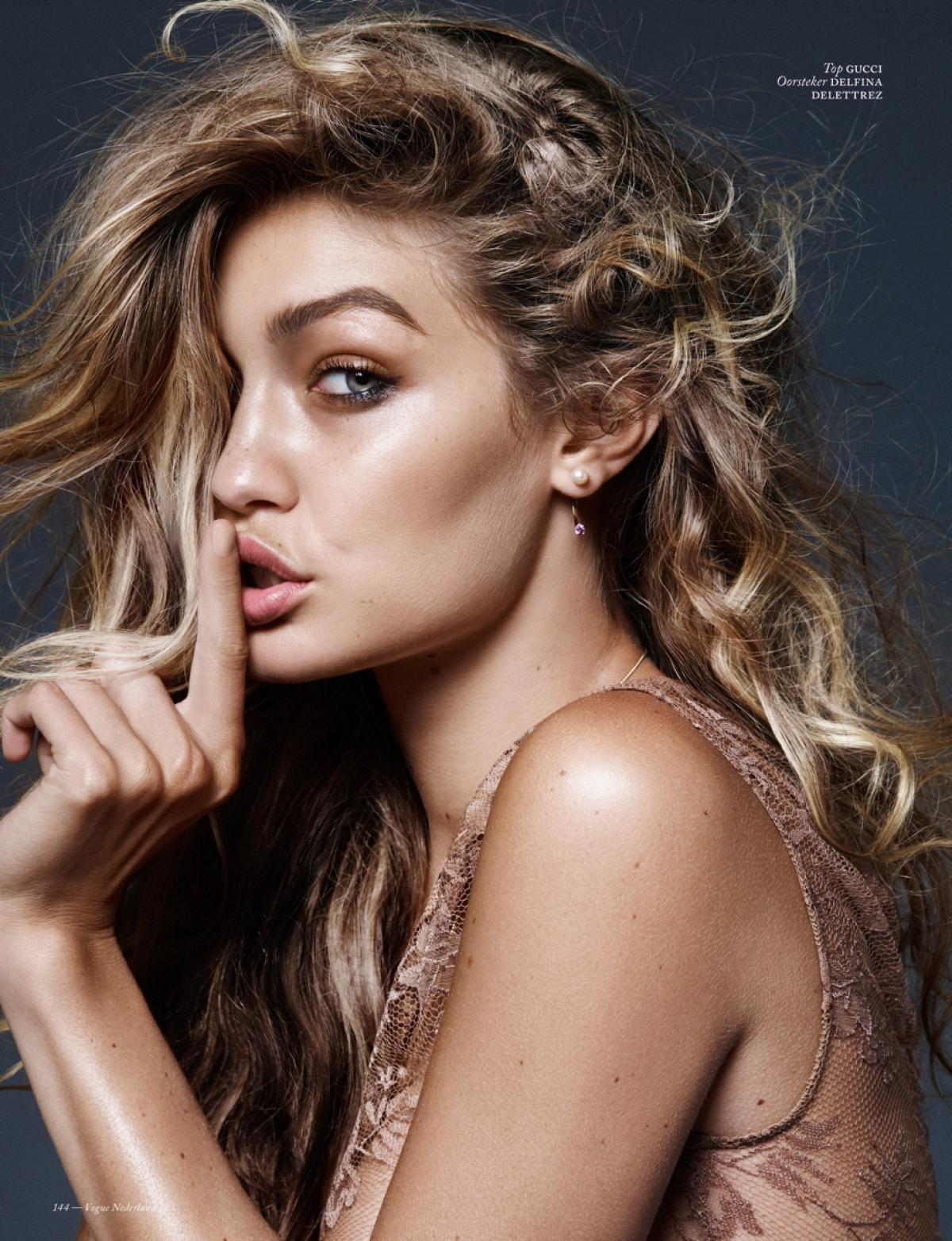 Beautiful Fashion Model Gigi Hadid Modeling For Vogue Netherlands Fashion Editorials Modeling As One Of The Highest Paid Models In The World. The World's Highest Paid Models. The Top Earning Models In The World.