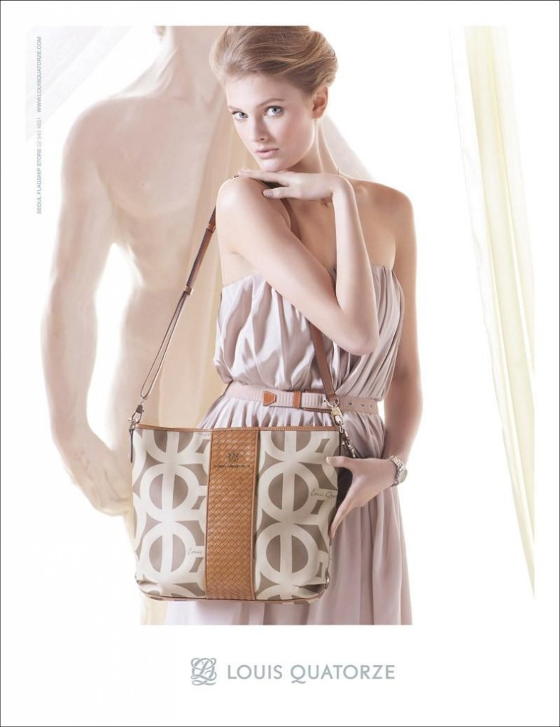 Beautiful French Blonde Victoria's Secret Model Constance Jablonski Modeling For Louis Quatorze Spring Summer Fashion Advertising Campaign Modeling Beautiful Louis Quatorze Bags And Purses As One Of The Highest Paid Models In The World.