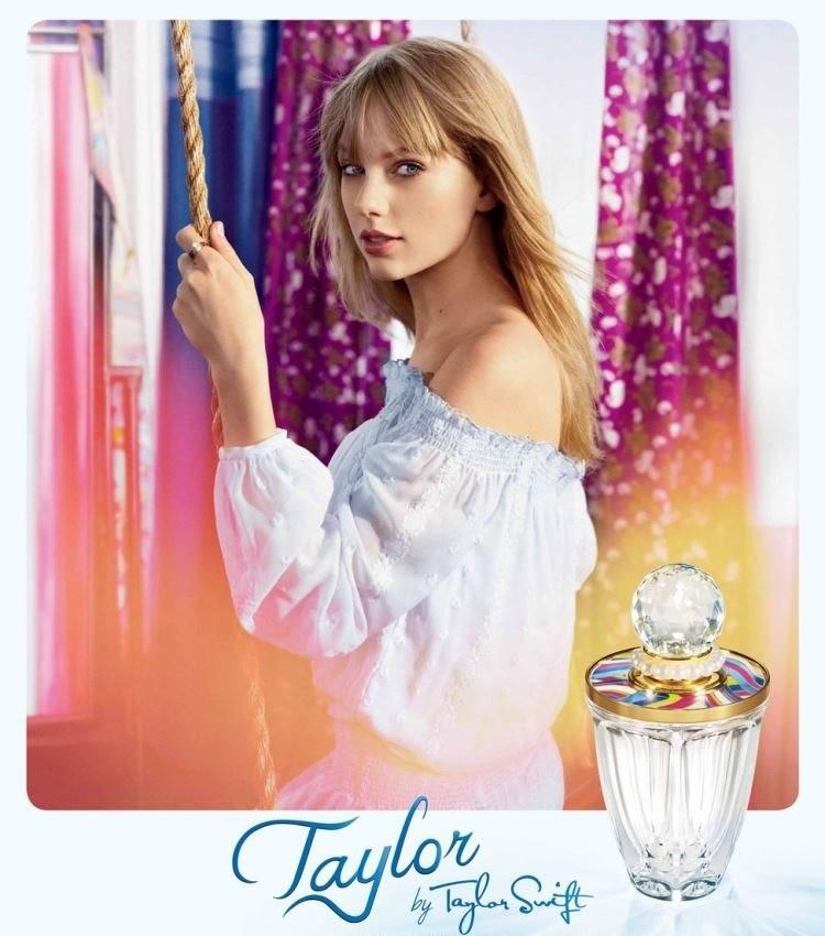 Beautiful Blonde Country Singer Taylor Swift Modeling For Taylor By Taylor Swift Fragrance Perfume Ads Modeling As The Third Highest Paid Female Singer In The World Earning $55 Million Dollars Over The Past Year.