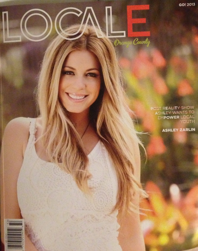 Cover For Locale Magazine Hair And Makeup By Noel Sweeny