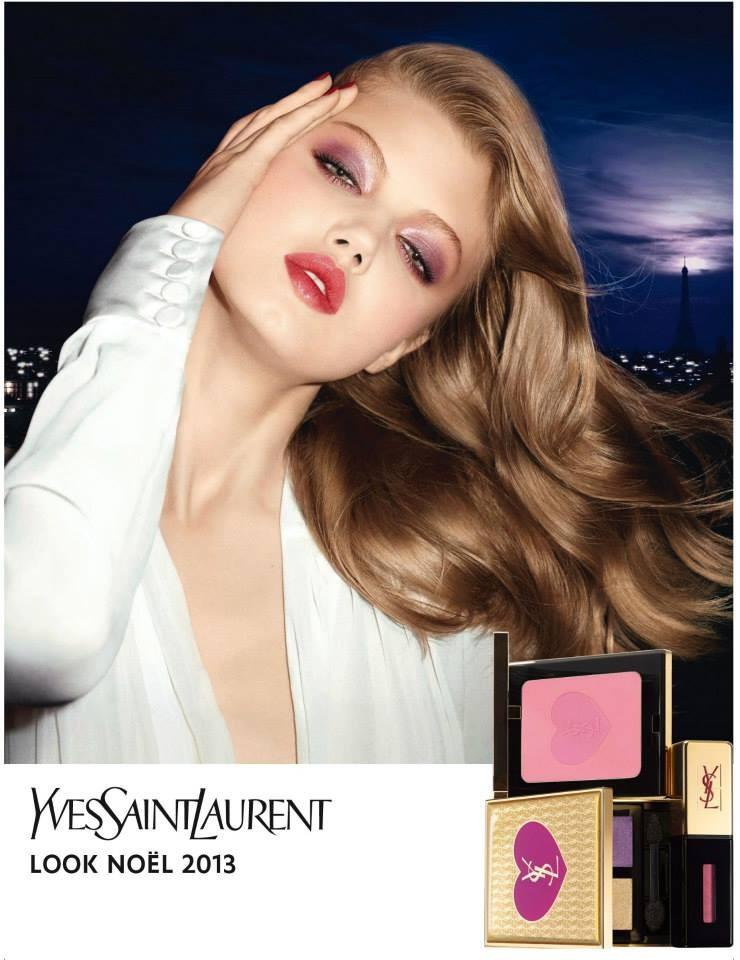 Beautiful Famous Fashion Model Lindsey Wixson Modeling For Yves Saint Laurent Fashion Ads And YSL Beauty Fashion Advertisements Modeling As One Of The Highest Paid Models In The World.
