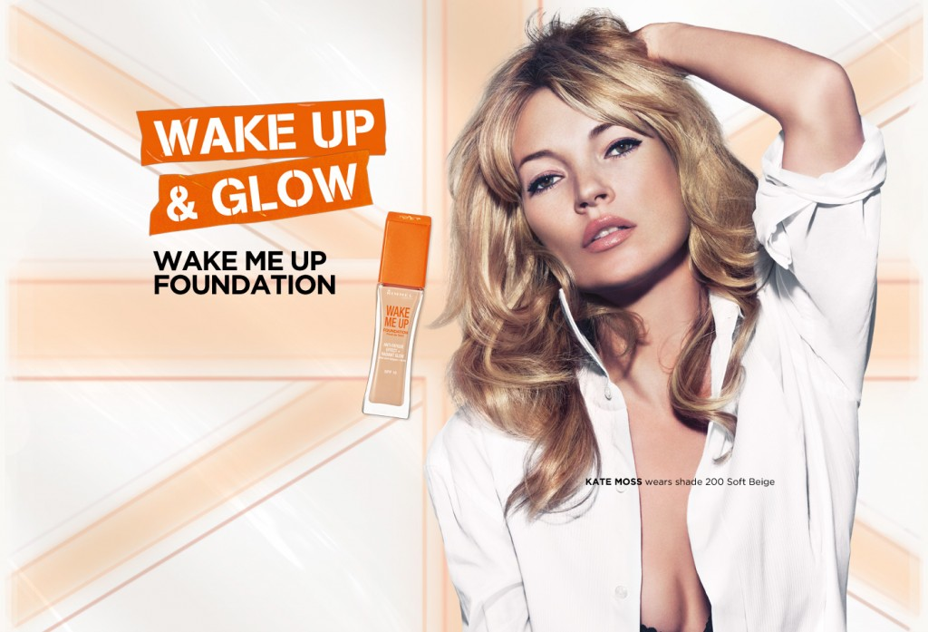 How To Get Beautiful And Younger Looking Skin That Glows - Beautiful Dark Blonde British Model Kate Moss Modeling For Rimmel London Modeling As One Of The Highest Paid Models In The World. The Best Anti-Aging (Anti-Wrinkle) Creams For Youthful Younger Looking Skin.