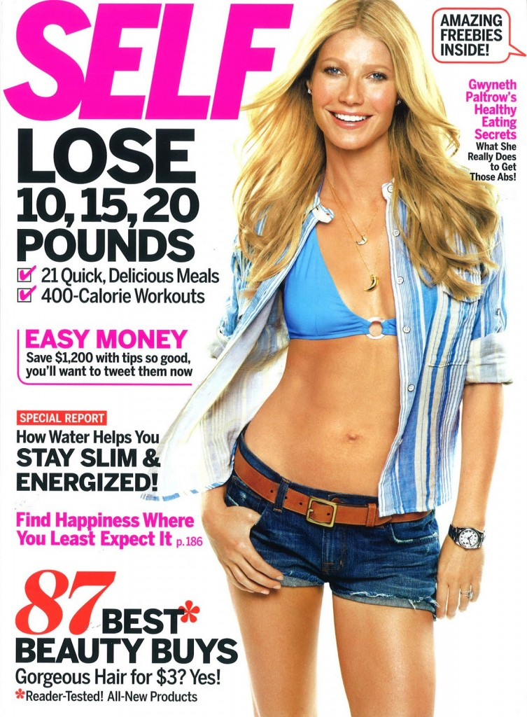 Beautiful American Actress Gwyneth Paltrow Modeling For The Cover Of Self Modeling As One Of The Highest Paid Actresses In The World. The World's Highest Paid Actresses. The Top Earning Actresses In Hollywood.