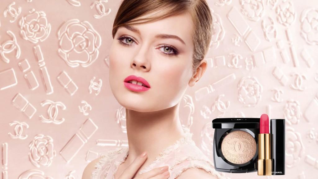 Beautiful Polish Model Monika Jagaciak (Monika Jac Jagaciak) Modeling For Chanel Makeup Advertisements (Chanel Beauty Ads) Modeling As One Of The Highest Paid Models In The World.
