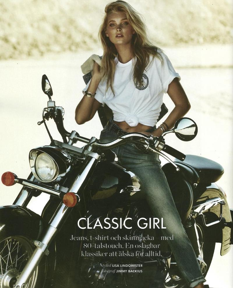 Beautiful Blonde Swedish Model Elsa Hosk Modeling For Elle Sweden Classic Girl Fashion Editorials Modeling As One Of The Highest Paid Models In The World. The World's Highest Paid Models. The Top Earning Models In The World.