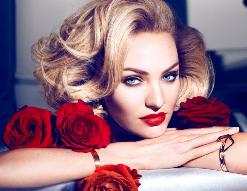 Beautiful South African Fashion Model Candice Swanepoel Modeling For Max Factor Makeup Ads (Beautiful Max Factor Advertisements) Modeling As One Of The Highest Paid Models In The World.