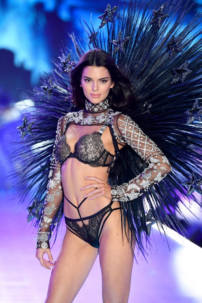 Beautiful American Fashion Model Kendall Jenner Modeling For The Victoria's Secret Fashion Show Modeling As The Highest Paid Model In The World. The World's Highest Paid Model. The Top Earning Model In The World.