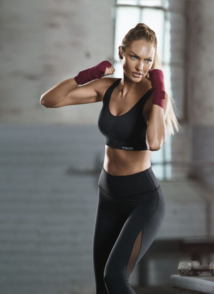 Beautiful Victoria's Secret Supermodel Candice Swanepoel Exercising & Training For The Famous Victoria's Secret Fashion Show. How To Exercise Like Victoria's Secret Models & Victoria's Secret Angels.