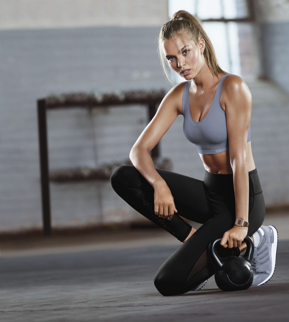 Beautiful Victoria's Secret Supermodel Josephine Skriver Exercising & Training For The Famous Victoria's Secret Fashion Show. How To Exercise Like Victoria's Secret Models & Victoria's Secret Angels.