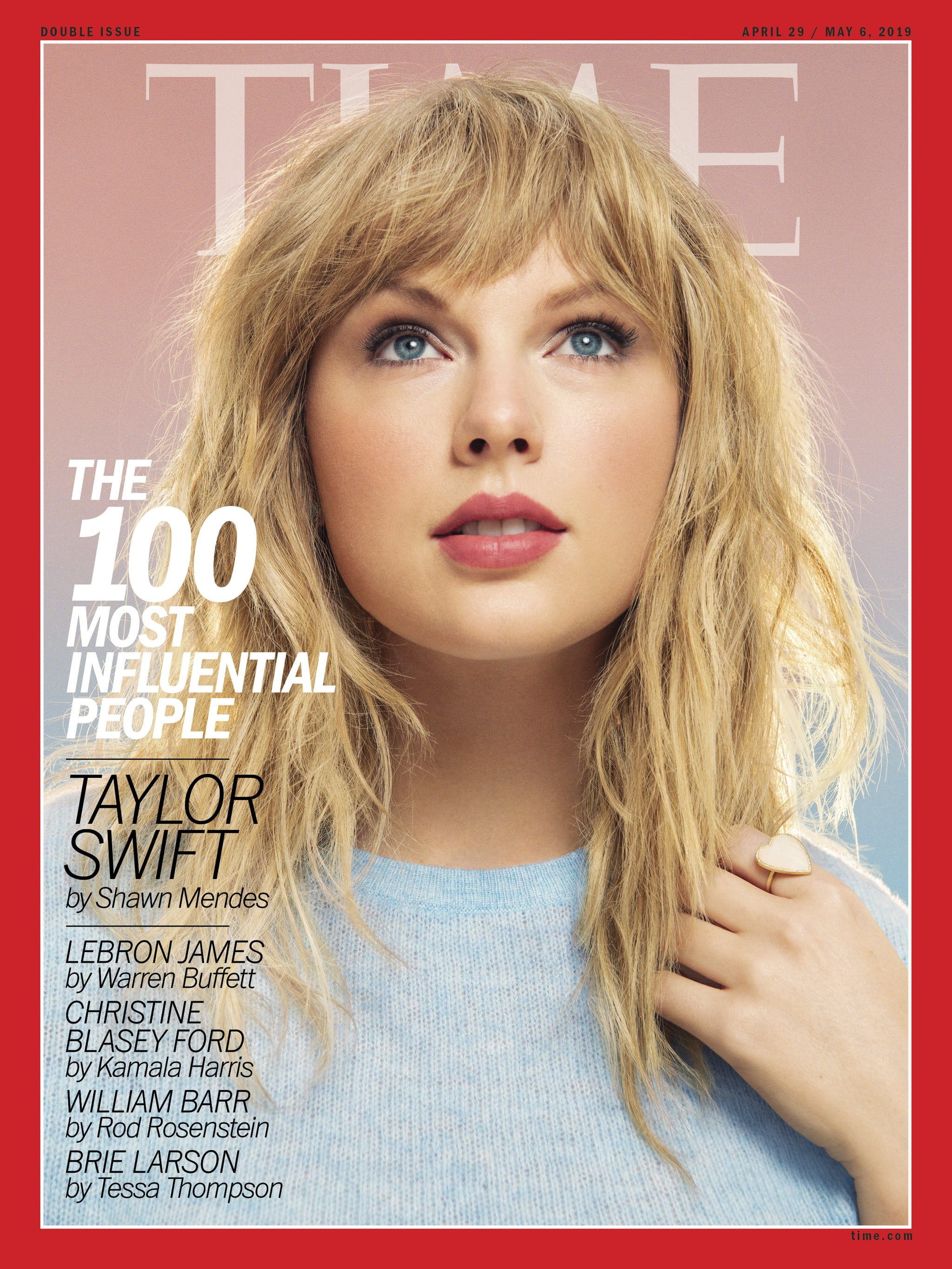 Beautiful Famous Singer Taylor Swift Modeling For TIME Magazine Modeling As One Of The Highest Paid Singers In The World.