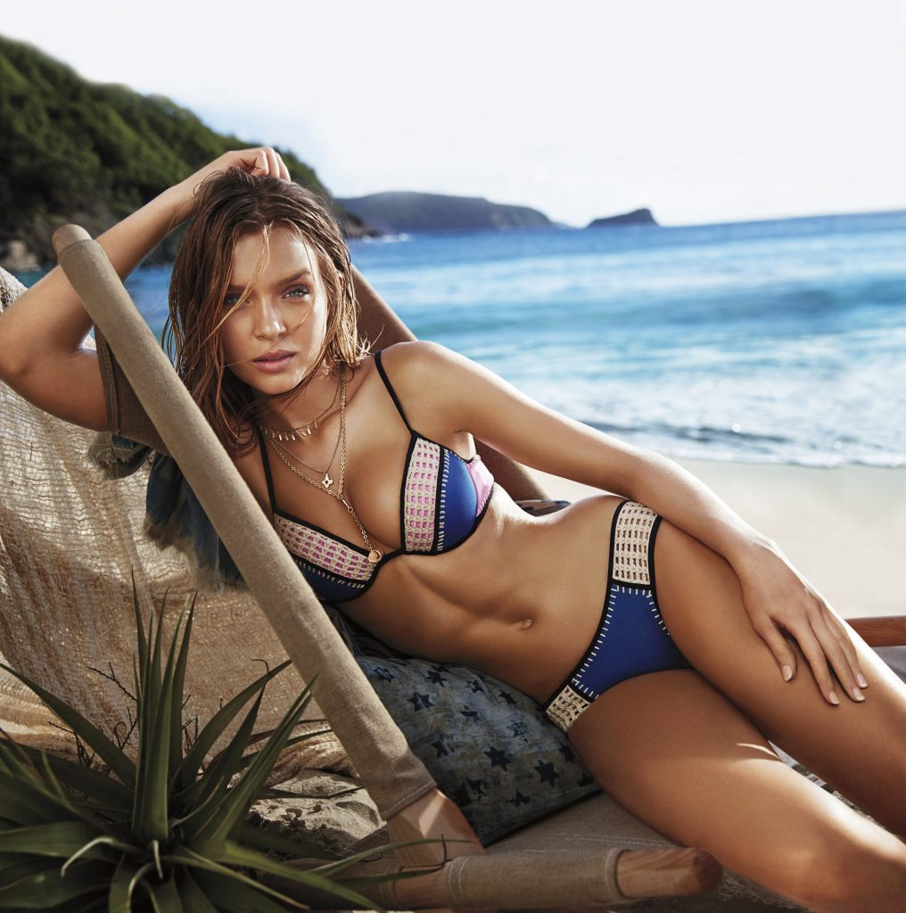 Beautiful Victoria's Secret Angel Josephine Modeling For Victoria's Secret Swim. How To Take Beautiful Polaroids For A Modeling Agency. Fashion Modeling Posing Tips For Swimsuit Models. How To Edit Your Pictures. Photography Tricks For Swimsuit Models.